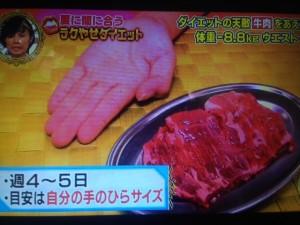 解決ナイナイアンサー 赤身肉